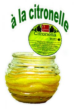 Bougie citronelle
