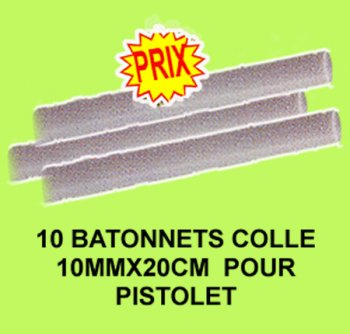 Pistolet a colle recharges