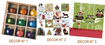 Copie de Serviettes papier décor Noel