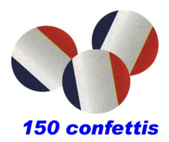 CONFETTIS RONDS FRANCE